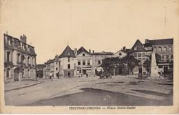 CHATEAU CHINON                               Place Notre Dame - Chateau Chinon