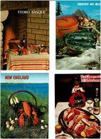 RECETTES CUISINE /  Lot De 75 Cartes Postales Modernes écrites - Cartes Postales