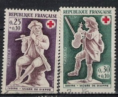 FRANCE      N° YVERT  :     1540/41       OBLITERE - Oblitérés