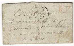 16958 - Pour Un Officier  Polonais à Paris - Marcophilie (Lettres)