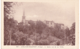 CARLA DE ROQUEFORT  -  EGLISE VUE DE LA VERBE - France