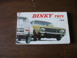 CATALOGUE PUBLICITAIRE DINKY TOYS 1968 - Publicidad