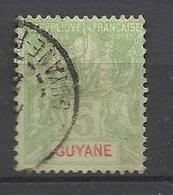 Guyane   N° 43  Oblitéré      B/TB ....... Soldé à Moins De  20 % ! ! ! - Used Stamps