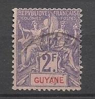 Guyane   N° 48  Oblitéré      B/TB ....... Soldé à Moins De  20 % ! ! ! - Used Stamps