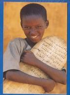 Gambia; Koranschueler Mit Suren-Brett - Gambia