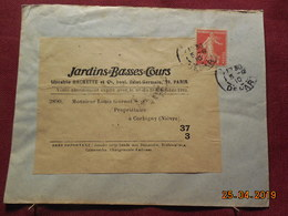 Lettre De 1910 à Destination De Corbigny - 1877-1920: Période Semi Moderne