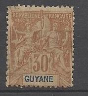 Guyane   N° 38      Neuf   *       B/TB ....... Soldé à Moins De  20 % ! ! ! - Unused Stamps