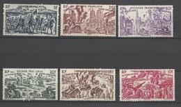 Guyane   Poste Aérienne N° 29  à  34         Neufs  (  *  )     B/TB ....... Soldé à Moins De  20 % ! ! ! - Unused Stamps