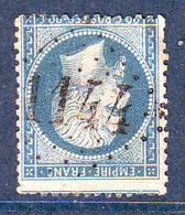 N° 22 Obl GC 1144  ... CORREZE Correze , Ind 9 = 55 Euro Sur Lettre - Marcophilie (Lettres)