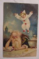 """""""Neujahr, Altes Jahr, Neues Jahr, Harlekin"""" 1900 ♥  - Neujahr"""