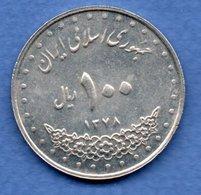 Iran   - 100 Rials AH 1378 -  état   SUP - Iran