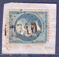 N° 22 Obl GC 2710  ... OBJAT Correze , Ind 6 = 25 Euro Sur Lettre - Marcophilie (Lettres)