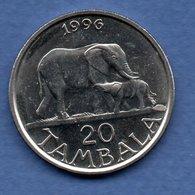 Malawi  - 20 Tambala 1996  -  Km # 29  -  état   SUP - Malawi