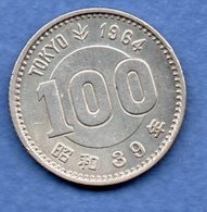 Japon  -100 Yen 1964 -  Km # 79 -  état   TTB - Japan