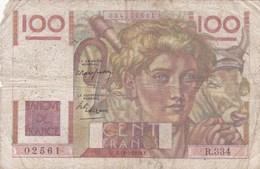 France - Billet De 100 Francs Type Jeune Paysan - 19 Mai 1949 - 100 F 1945-1954 ''Jeune Paysan''