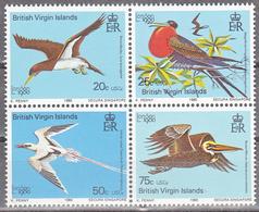 VIRGIN ISLANDS      SCOTT NO. 385-88   MNH      YEAR 1980 - British Virgin Islands