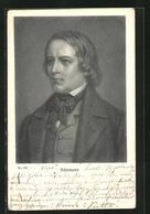 AK Komponist Robert Schumann, Halbportrait Im Anzug - Artiesten