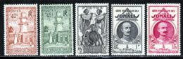 Cote Des Somalis 1939 Yvert 177 / 179 - 182 - 183 ** TB - Französich-Somaliküste (1894-1967)