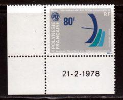 Polynesie Française PA 1978 Yvert 136 ** TB Coin De Feuille - Poste Aérienne