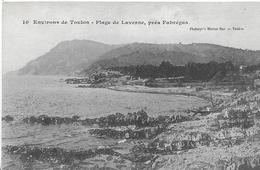 La Seyne-sur-Mer. Plage De La Verne Pres De L'anse De Fabrégas. - La Seyne-sur-Mer