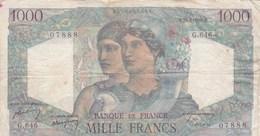 France - Billet De 1000 Francs Type Minerve & Hercule - 20 Avril 1950 - 1871-1952 Antiguos Francos Circulantes En El XX Siglo