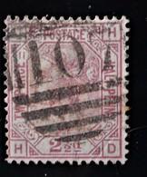 REINE VICTORIA 1875 - OBLITERE - YT 31 PLANCHE 11 - MAGNIFIQUE  OBLITERATION - 1840-1901 (Victoria)