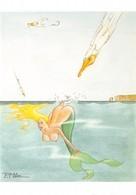Pierre MILON - Sirène Coquine - Pin-up - Nu Dessiné - Illustrators & Photographers