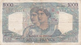 France - Billet De 1000 Francs Type Minerve & Hercule - 17 Février 1949 - 1 000 F 1945-1950 ''Minerve Et Hercule''