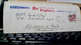 AVERSA DITTA ARREDAMENTI MOBILI MOBILIFICIO PAGLIUCA VB1971 50 LIRE GIOCHI GIOVENTU HC9352 - Aversa