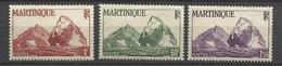 Martinique N° 229  à 231     Neufs  *   B/TB    Soldé  à Moins De  20  % ! ! ! - Martinique (1886-1947)