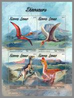 SIERRA LEONE 2019 MNH Dinosaurs Dinosaurier Dinosaures M/S - OFFICIAL ISSUE - DH1916 - Prehistorics