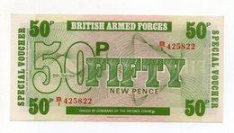 Regno Unito - Fifty New Pence - Forze Armate Britanniche - Nuova - Vedi Foto - (FDC15196) - Emissioni Militari