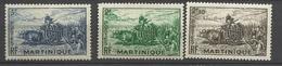 Martinique N° 238  à 240     Neufs  *   B/TB    Soldé  à Moins De  20  % ! ! ! - Martinique (1886-1947)