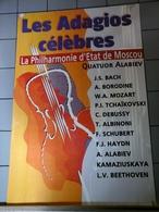 Affiches - Les Adagios Célèbres Philharmonie D'Etat De Moscou - Manifesti & Poster