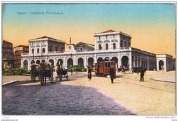 NAPOLI:  STAZIONE  FERROVIARIA  -  FP - Stazioni Senza Treni