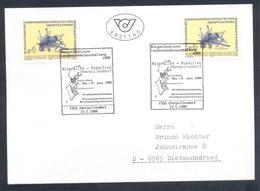 Austria 1986 Cover: Minerals Mineralien Mineraux;; Fossils Fossilien; Antimonit; Burgerlandische Ausstellung Oberpullend - Mineralien