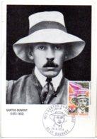 Santos Dumont -Le Bourget -1973--voir état - Cartes-Maximum