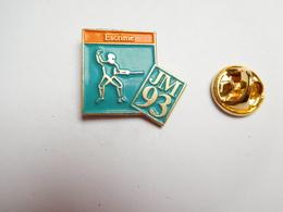 Beau Pin's , JM 93 , Jeux Méditerranéens , Sport , Escrime - Fencing