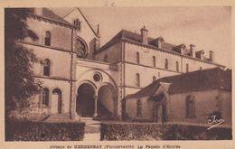 Cp , 29 , PLOUNÉVENTER , Abbaye De KERBENEAT , La Façade D'Entrée - Autres Communes