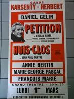 Affiche - Galas Karsanty Herbert Avec Daniel Gelin - Plakate & Poster