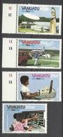 Nouvelles Hébrides Vanuatu N° 682  à  685   La Poste   Neufs  * * TB  = MNH VF    Soldé  à Moins De  20  % ! ! ! - Post