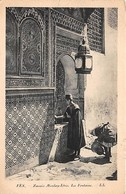Fez, Fes, Zaouia Moulay-Idris, La Fontaine - Fez (Fès)