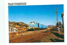 Train - Lamalou Mons La Trivalle - Ligne Beziers Neussargues  - Gare   U 1465 - Trains