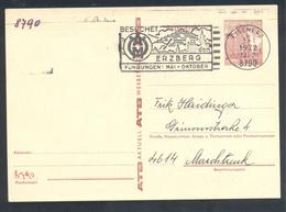 Austria 1972 Postal Stationery Card: Minerals Mineralien Mineraux; Erzberg Eisenerz - Minerals