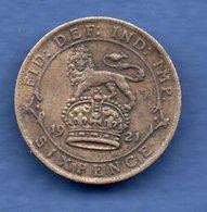 Grande Bretagne  - 6 Pence 1921  - Km # 815a1-   état  TTB - 1902-1971 : Post-Victorian Coins