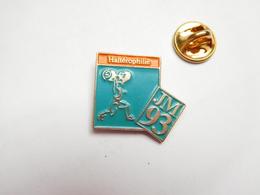 Beau Pin's , JM 93 , Jeux Méditerranéens , Sport , Haltéres , Haltérophilie - Weightlifting