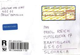 Czech Rep. R Letter Apost Jablonec ... Ak335 - República Checa