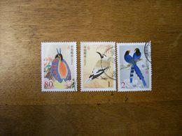 CHINE Tp  Oiseaux Serie Incomplete Annee 2002 - 1949 - ... République Populaire