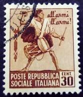 Italie Italy Italia 1944 Yvert 29 O Used Usato - Gebraucht