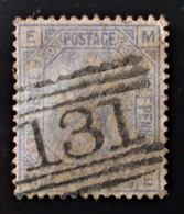 REINE VICTORIA 1875 - OBLITERE - YT 57 - BELLE OBLITERATION - 1840-1901 (Victoria)